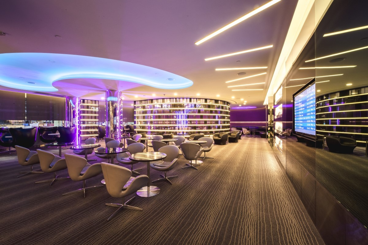 Sky Tree dining area in The Infinity Lounge Seats