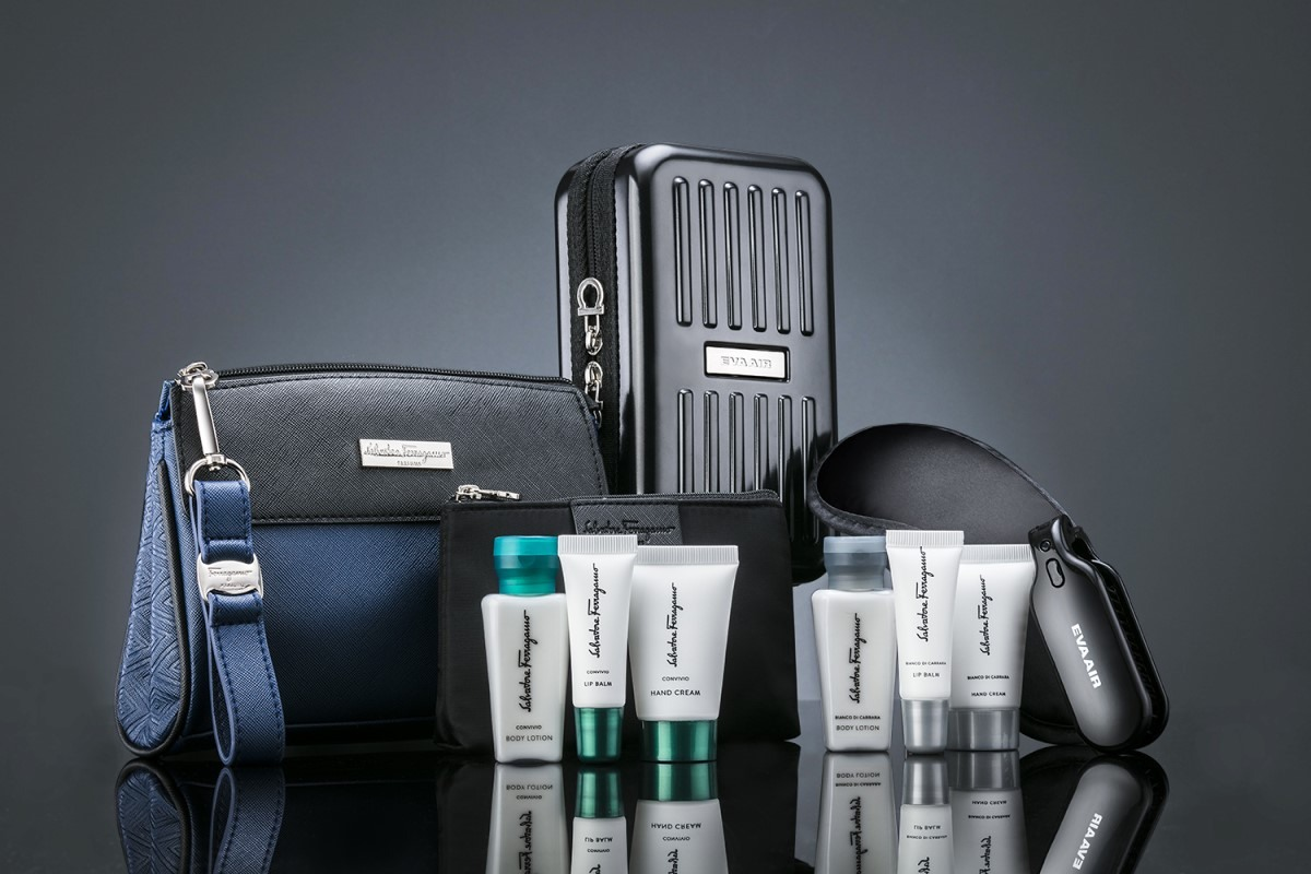 Exclusive Amenity Kit in Royal Laurel class