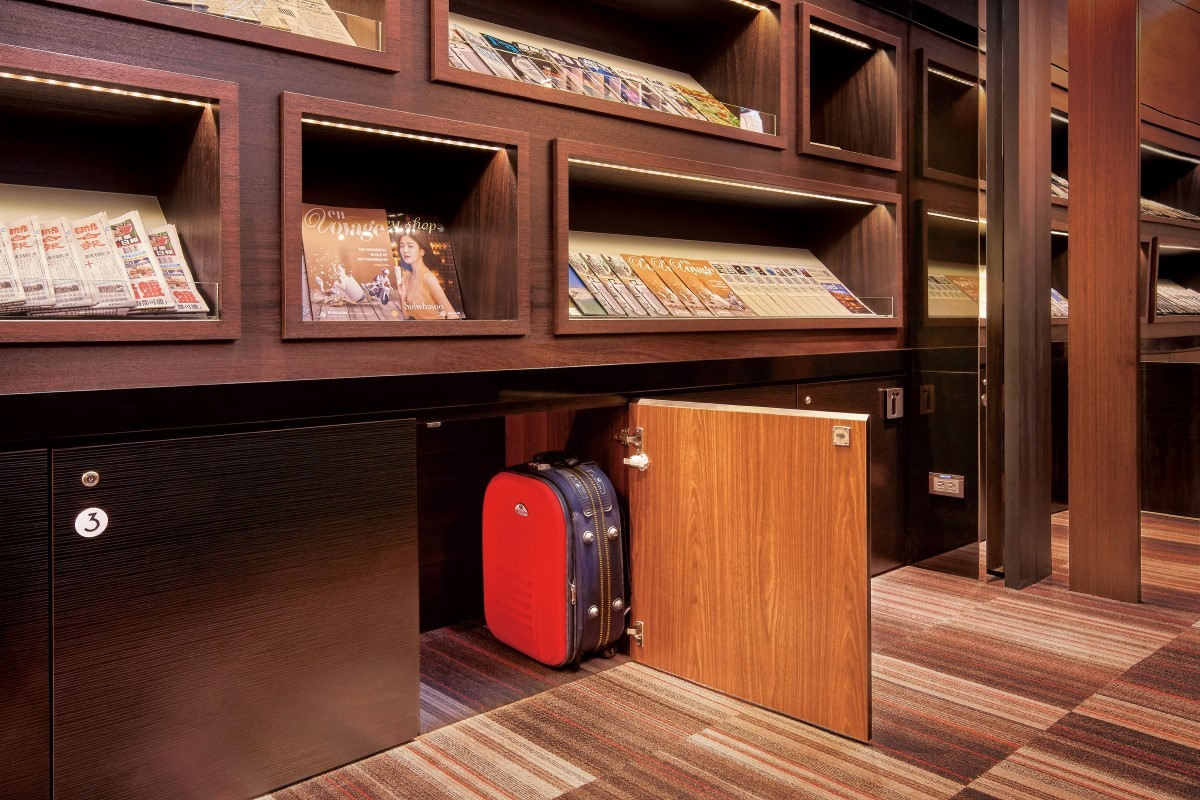 Lockers in The Club Lounge