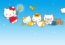 EVA, Sanrio Unveil Second Generation Hello Kitty Jet Aircraft
