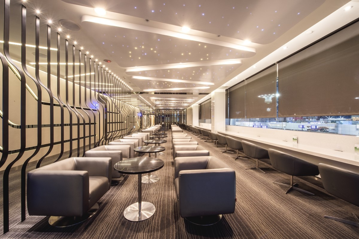 Galaxy dining area in The Infinity Lounge