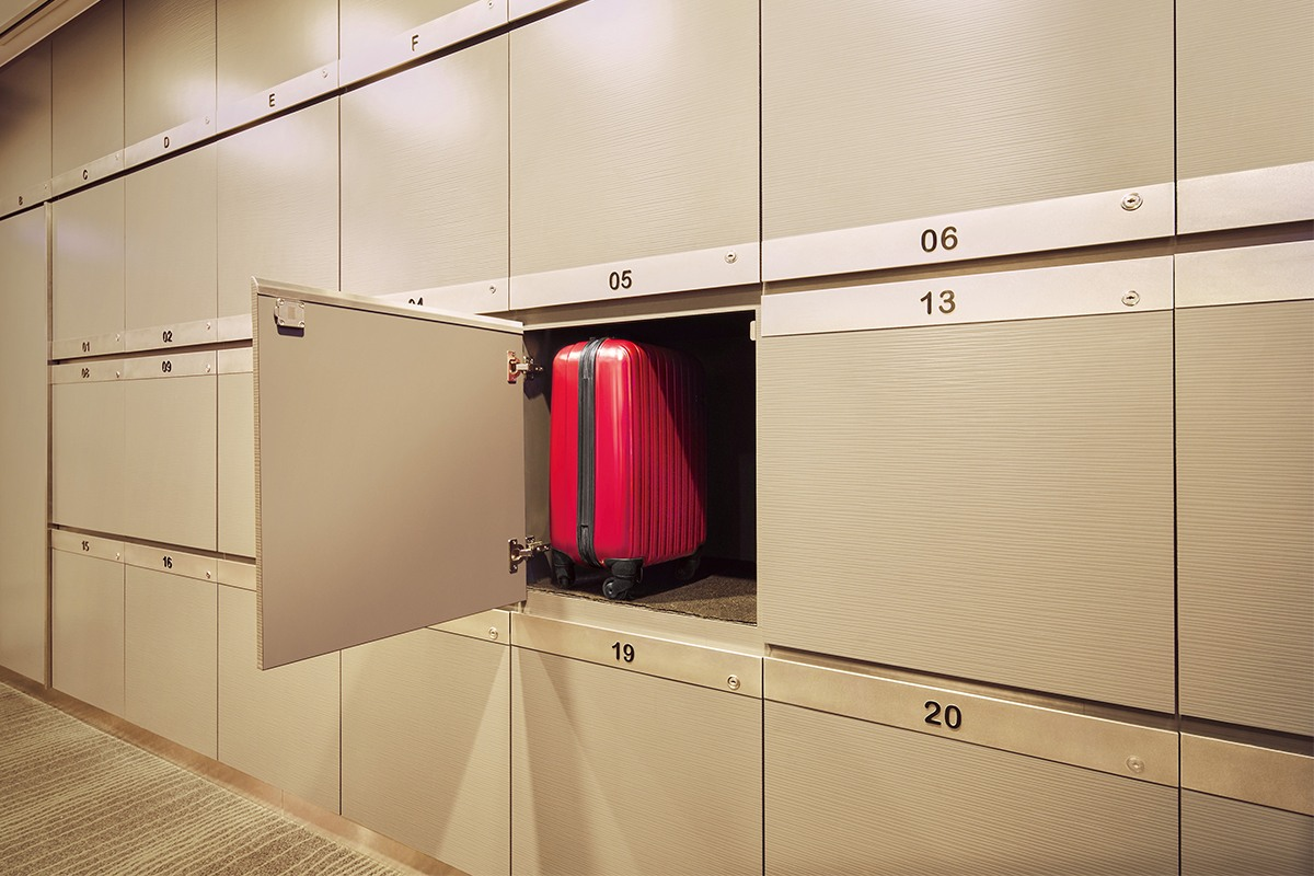 Lockers in The Infinity Lounge