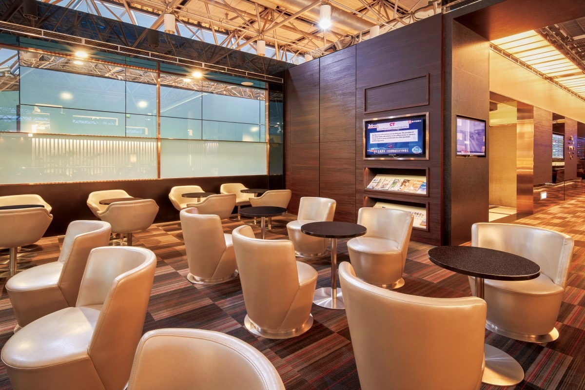 Seats in The Club Lounge
