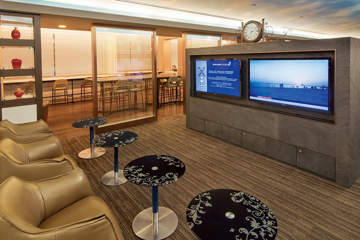 Television in The Star Lounge