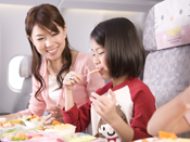 EVA Air Economy Class - Fresh and healthy inflight cuisine