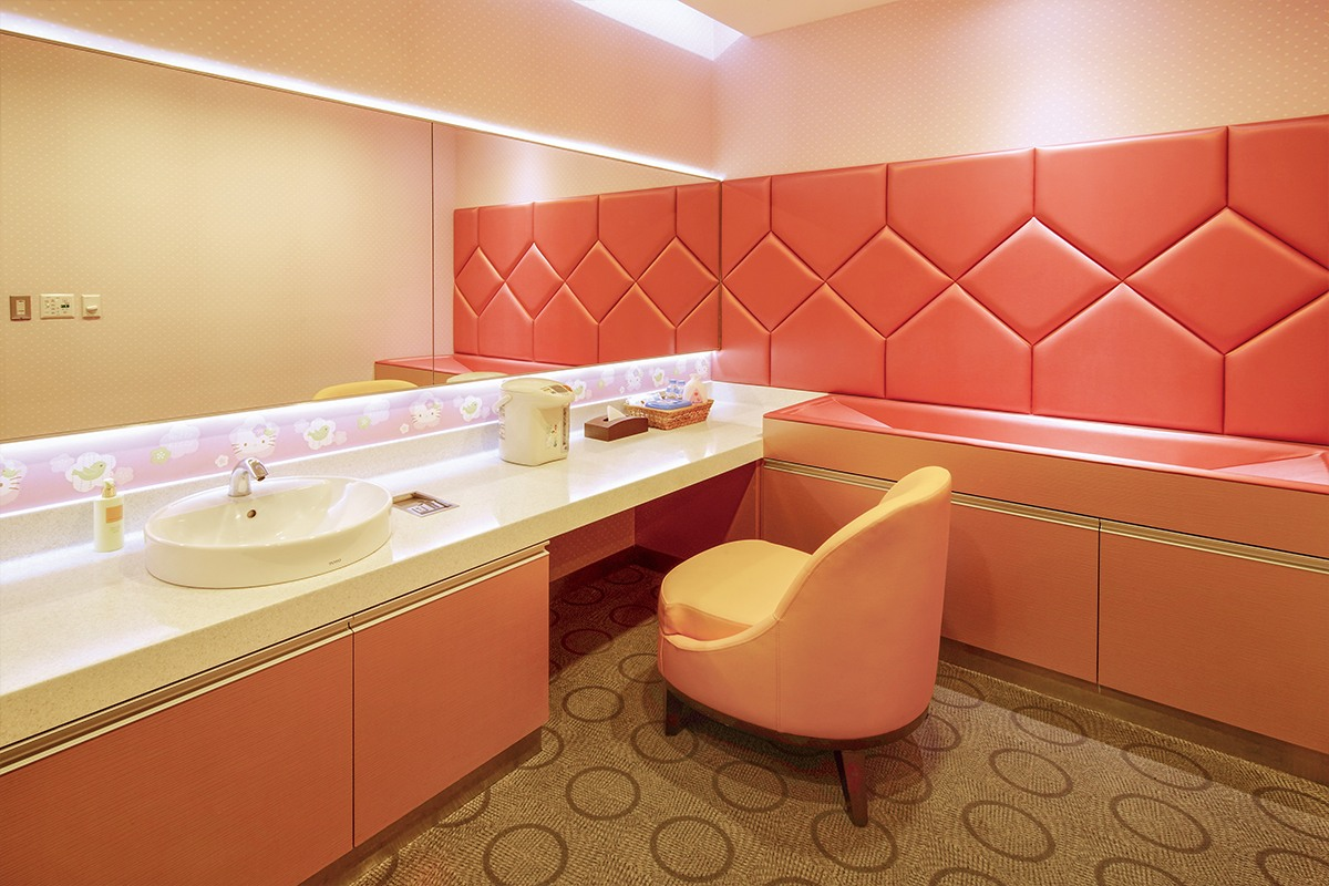 Baby Changing Facilities in The Infinity Lounge