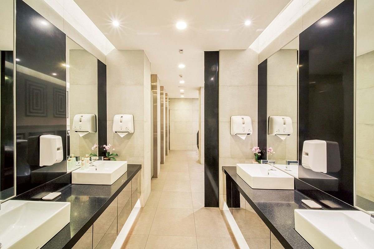 Restroom in The Infinity Lounge