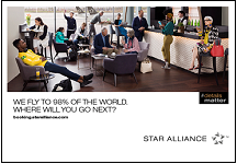 Star Alliance Promotion Banner